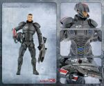 Shepard action figure card by shatinn