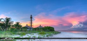 Sanibel-Lighthouse-Panorama-at-the-Island-Lee-Coun by CaptainKimo
