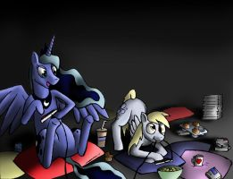 Royal Game Night by Optimus-Owl