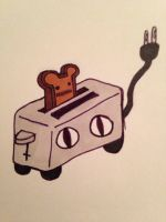Toaster Rider  by AlexicoScythe