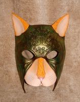 War Cat Mask by b3designsllc