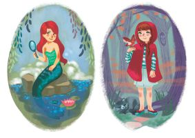 little fairy tales by audreymolinatti