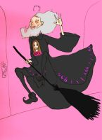 Dumblydore by preternatural-art
