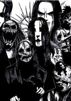 Slipknot : fanart by painface1207