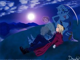 Brothers Elric by druihd