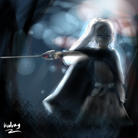 Ice Queen ready to strike by Kadrag