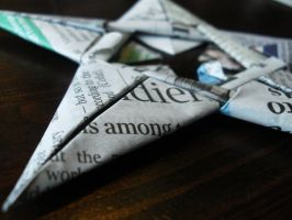 Origami Star by vannio