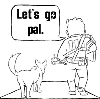 Fallout4 - Lets go pal by KingVego