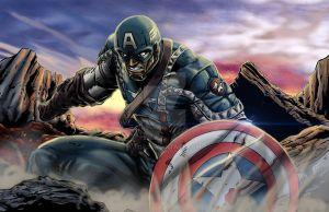Captain America by 1314