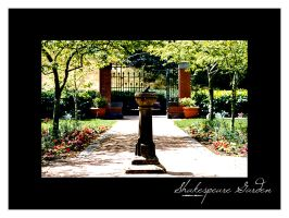 Shakespeare Garden by agnesvanharper