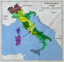 United Kingdom of Italy 1867 by zalezsky
