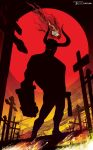 Hellboy Cross Road by artist Tom Kelly by TomKellyART