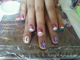 one direction by Happynails