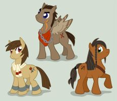 MLP Fim Charecters by customlpvalley