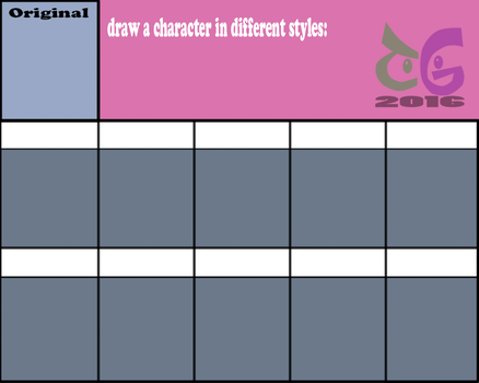 Draw a character in different styles by toongrowner