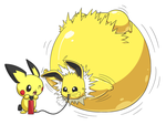 (Trade) Inflated Jolteon by selphy6