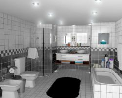 Bathroom by osmanassem