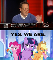 MY LITTLE PONY HORSES ARE TOO SEXY by SteGhost