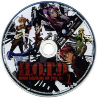 High School of the Dead Label by kamuixtv99