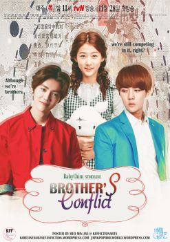 Brother's Conflict | FanFiction Poster by heominjae