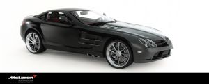 mercedes mclaren slr by 3DEricDesign