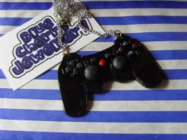 Playstation Controller Necklac by tyney123