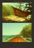 Backgrounds_Island by scalawags