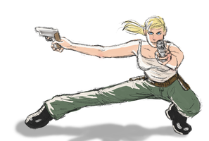 Leigh Action Pose Practice by shylittleghost