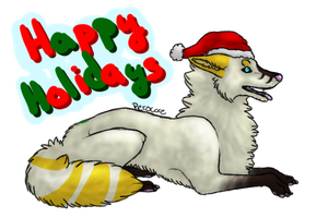 White Gold :: Happy Holidays by Perocore
