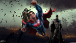 Batman V Superman Dawn Of Justice Trinity by DavidCreativeDesigns