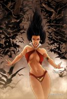 Vampirella Strikes 03 Cover Colors by FabianoNeves