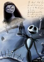 Jack and Sally by xavi-M