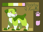Pearby Ref by FireIceWolf
