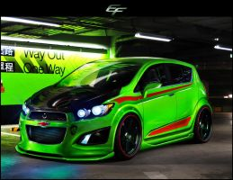 Chevrolet Aveo RS 2011 by EmreFast