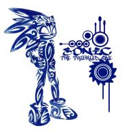 Sonic. the Tribaled one by modi-KG