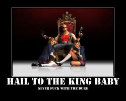 HAIL TO THE KING BABY by TACTICALxERROR