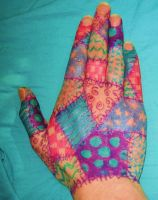 Patchwork Hand 5 by aubzilla