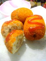 homemade fried buns by plainordinary1