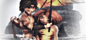 The Croods by ezi0auditore