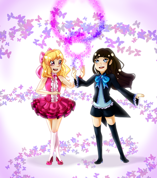 Magical Girls by mihanee