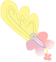 MLP Keyblade : Butterfly Wing by NiGHTSHAO