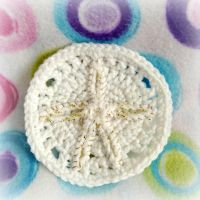 Crochet Sand Dollar by MadameWario