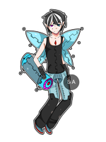 Fairy + Weapon . Adopt - CLOSED by SeductiveAdopts