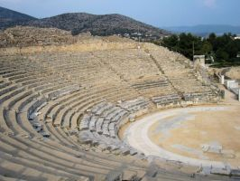 Theater of Philippi by Cirandel