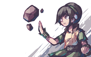 Toph Beifong by Karzahnii