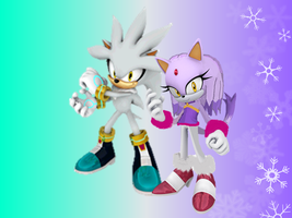 Silver and Blaze Best Friend Lovely Winter Wal by 9029561