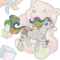 Baby-Bear-Quilt Pony by DasTenna