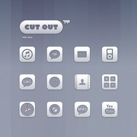 Cut Out Theme Preview by sevenupcan
