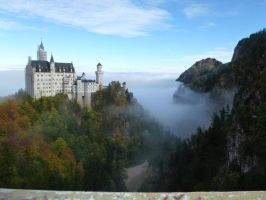 Neuschwanstein by dashinvaine