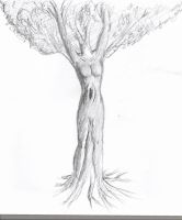 woman or tree by grabbelfant